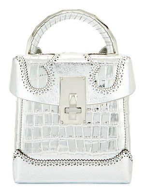 THE VOLON Great Alice Large Box Satchel Bag