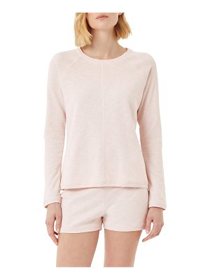 THE WHITE COMPANY french terry pullover