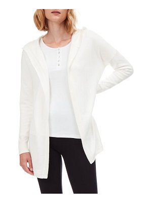THE WHITE COMPANY hooded open cardigan