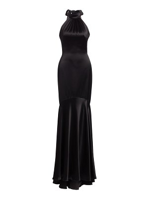Theia halter mermaid gown