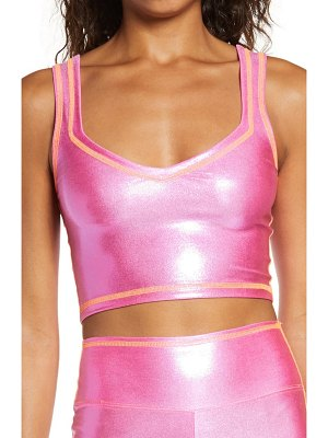 The Mighty Company the glitter crop tank