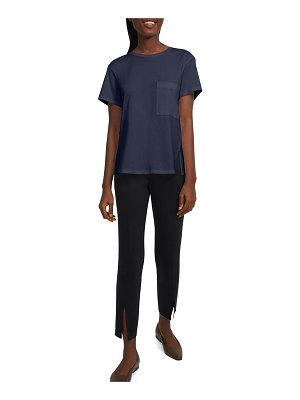 Theory Apex A-Line Tee with Patch Pocket