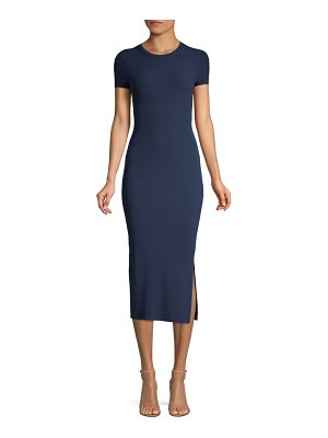 Theory Basic Crew Sheath Dress
