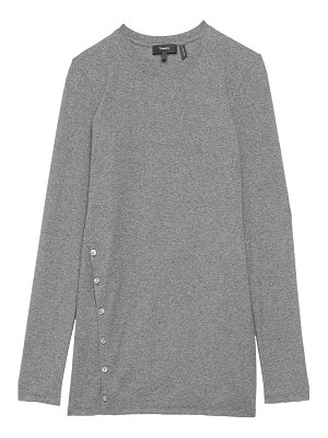 Theory button front t-shirt
