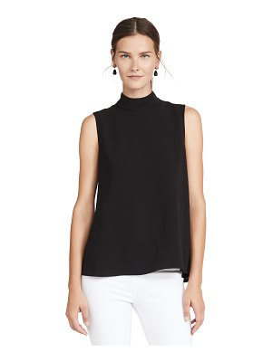 Theory cascade sleeveless top