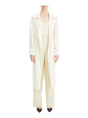 Theory classic crepe trench coat