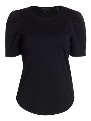 Theory clinto ruched t-shirt