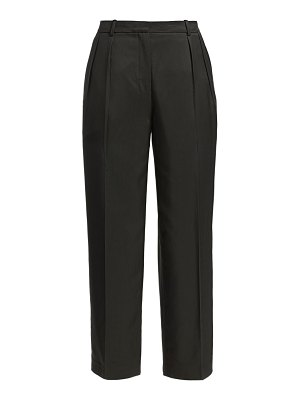 Theory sleek twill cropped trousers