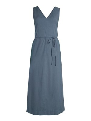 Theory deep v-neck maxi dress