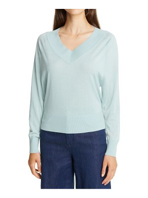 Theory deep v-neck sweater