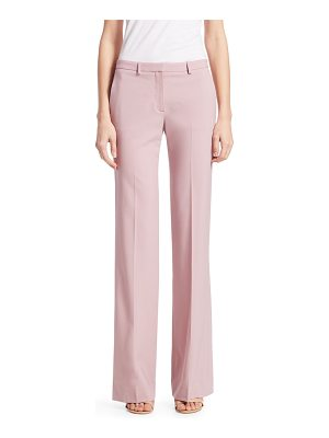 Theory demitria wool flare pants