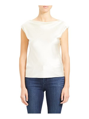 Theory drape neck top