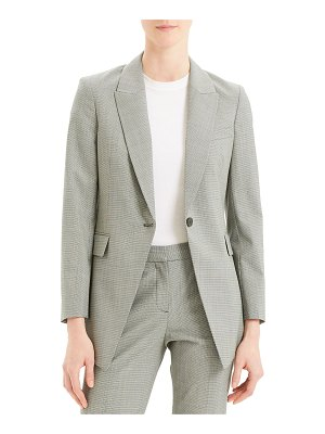 Theory Etiennette B Good Wool Long Blazer