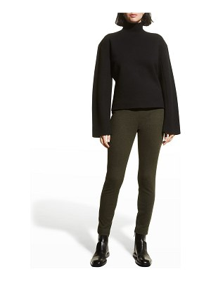 Theory Felted Wool-Cashmere Leggings