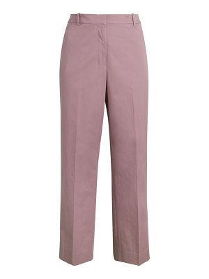 Theory High-Rise Straight-Leg Pants