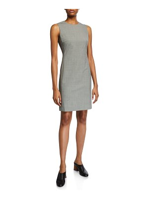 Theory Houndstooth Wool Dress