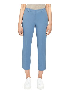 Theory Knit Cropped Tailored Trousers