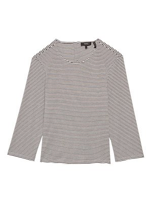 Theory lowell striped t-shirt