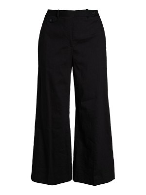 Theory Nadeema Crunch Cropped Pants