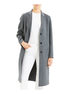 Theory New Divide Luxe Classic Coat