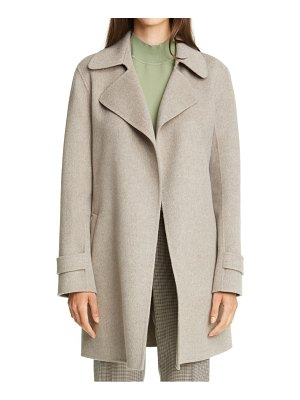 Theory oaklane wool & cashmere trench coat