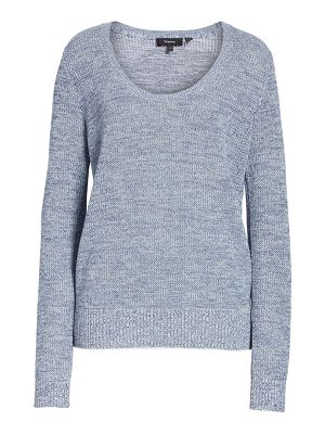 Theory prosecco marled sweater