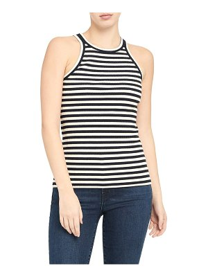 Theory racer stripe tank top