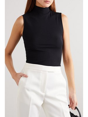 Theory ribbed stretch-jersey turtleneck top