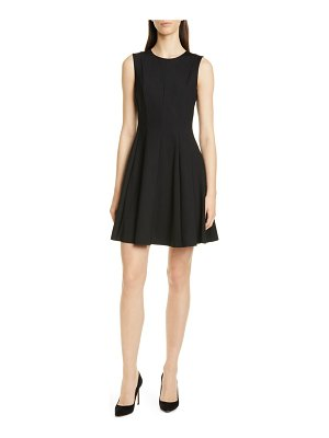 Theory sleeveless fit & flare dress