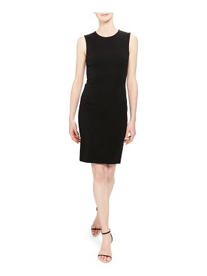 Theory sleeveless fitted sheath dress
