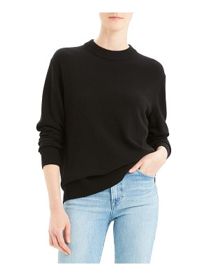 Theory Solid Crew Cashmere Sweater