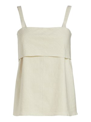 Theory squareneck tie-back top