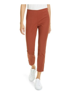 Theory stretch cotton crop pants