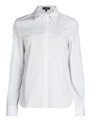 Theory Stretch Cotton Shirt