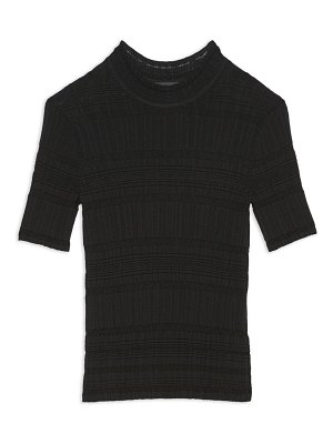 Theory striped ribbed t-shirt