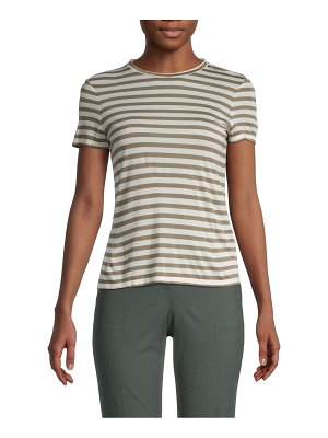 Theory Striped Tiny Tee