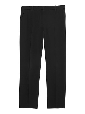 Theory crepe cropped tailered trousers