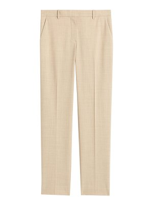 Theory tailored stretch wool trousers
