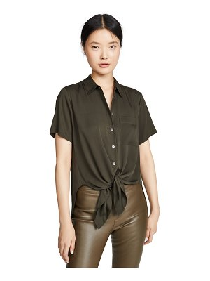 Theory tie-front top