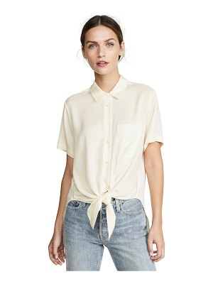 Theory tie front top