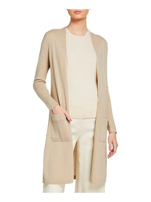 Theory Torina B Cashmere Open-Front Cardigan