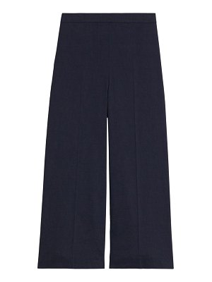 Theory wide-leg pull-on pants