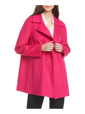Theory wool & cashmere overlay coat