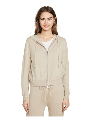 Theory zip up cashmere hoodie