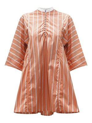 THIERRY COLSON rachel striped cotton kaftan