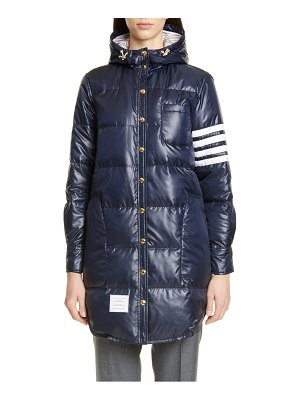 Thom Browne 4-bar down fill puffer coat