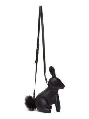 Thom Browne black small rabbit shoulder bag