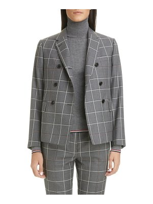 Thom Browne double breasted wool blazer