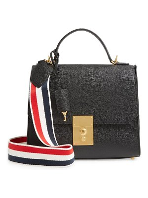 Thom Browne mrs. thom leather flap crossbody bag