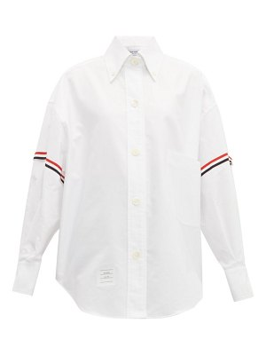 Thom Browne oversized cotton oxford shirt